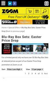 Blu-Ray Box Sets: Easter Price Drop | ZOOM.co.uk