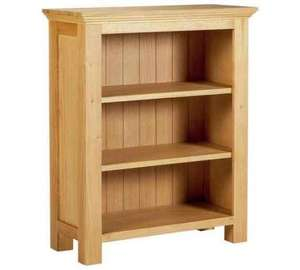 Oak and oak veneer book case £39.99 down from £199! @ Argos (Delivery from £6.95)