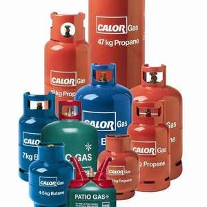 £7.50 MINIMUM for any old Calor gas bottle NO CONTRACT NEEDED! @ Calor gas