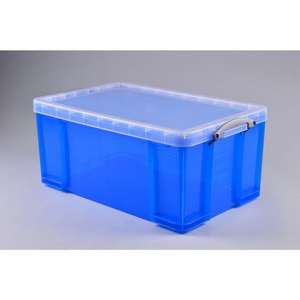 Really Useful Box 64 Liters 710 x 440 x 310 mm, Blue £10 @ Staples