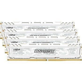Crucial Ballistix Sport 32GB Memory Kit 4x8GB 2400MHz DDR4 Unbuffered Non-ECC CL16 288-pin DIMM Kikatek Only 1 in stock £183.72