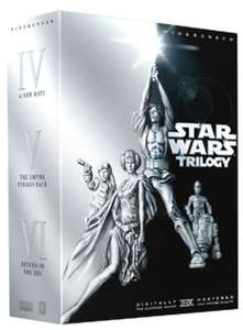 Star Wars Original Trilogy DVD (Preowned) with automatic 20% at Checkout £5.51 @ Musicmagpie