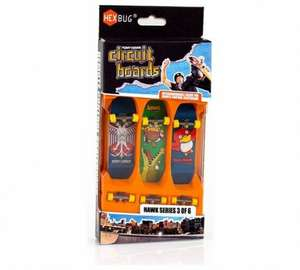 Hexbug Tony Hawk 3 pack circuit boards was £9.99 now £2.99 @ argos free c&c or amazon add on item