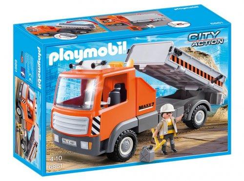 Playmobil Flatbed Workman's Truck 6861 £9.08 @ George Asda online