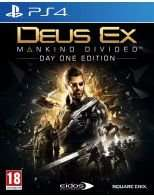 Deus Ex Mankind divided - Day one edition (PS4/XO) £8.49 delivered Go2Games