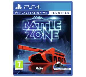 Battlezone, Robinson: The Journey, Eve Valkyrie, RIGS  (PSVR) - £25.49 @ Argos each
