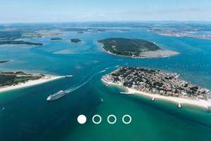 Poole Harbour and Islands Cruise for Two for £9 duration 1 hour 15mins @ Virginexperience