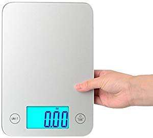 BalanceFrom High Accuracy Touch Multifunction Digital Kitchen Scale with Extra Large Backlight Display £7.95 (Prime) / £12.70 (non Prime) Sold by BalanceFrom UK and Fulfilled by Amazon