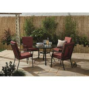 Grenada Dining Set £199 / £208.95 delivered @ The Range