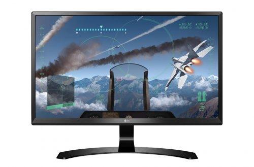 "LG 24UD58 23.8"" IPS 4K (UHD) Monitor £254.98 at ebuyer"