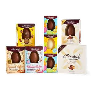 Thorntons Easter Egg Bundle £25.20 delivered with code