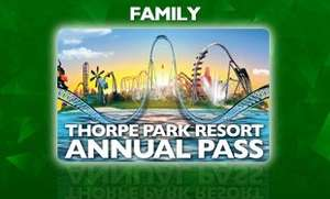 Ends 23rd April - Thorpe Park Annual Pass £51.50