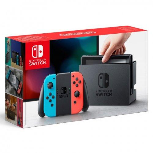 Neon Nintendo Switch + Zelda BOTW - £319.99 Delivered @ Smyths