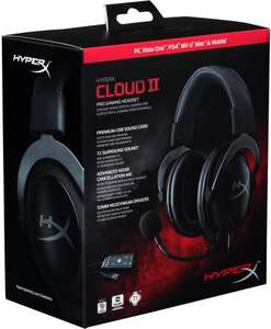 HyperX Cloud II Gaming Headset PC/PS4/Mac/Mobile/Xbox One - Gunmetal - £39.99 Delivered @ Smyths (Instore & Online)