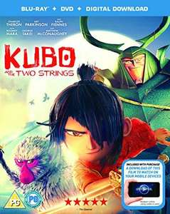 Kubo and the two strings on blu ray £5.08 prime / £7.07 non prime @ Amazon