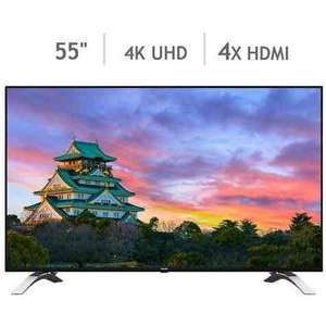 Toshiba 55U6663DB 55 Inch 4K Ultra HD TV. Now £499.99. On Costco website.