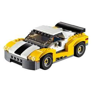 LEGO Creator Fast Car 31046 £5.40 instore @ Dobbies