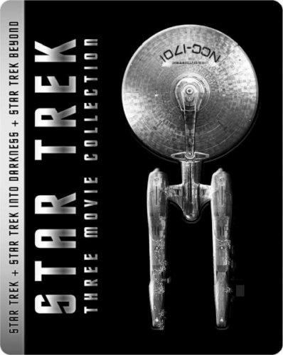 Star Trek: (Five Discs) Three Film STEELBOOK Blu-Ray Boxset: Star Trek (2D) / Star Trek Darkness (2D & 3D) / Star Trek Beyond (2D & 3D) £19.99 @ Zavvi