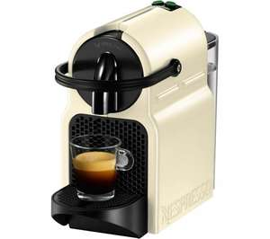 NESPRESSO  Inissia Coffee Machine with Aeroccino £79.97 at Currys plus £60 back in coffee vouchers (in store - sold out online)