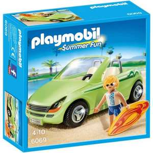 Playmobil 6069 Surfer with Convertible Car £5.00 (was: £9.99) @Smyths