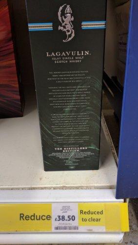 Lagavulin Distillers Edition £38.50 @ Tesco Addlestone
