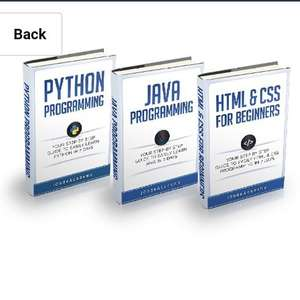 Programming: For Beginners: 3 Manuscripts in 1 Bundle - Python For Beginners, Java Programming and Html & CSS For Beginners Free @ Kindle Amazon