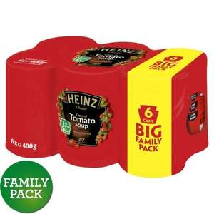 6 x 400g Heinz Tomato Soup £1.99 at Farm Foods