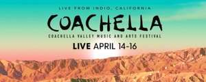 Coachella 2017: Live stream on Youtube April 14–16