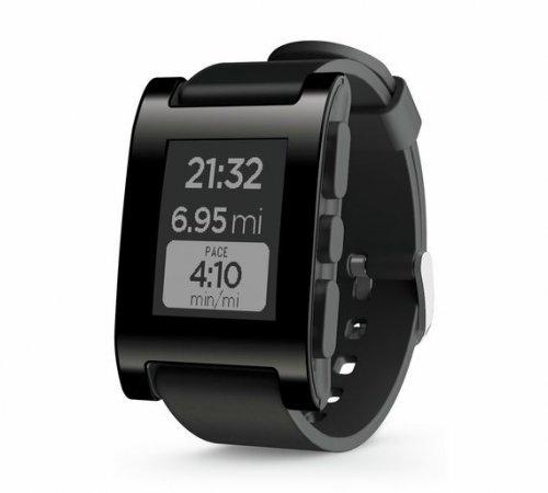 Pebble Classic Fitness Smartwatch - Black @ Argos - £39.95