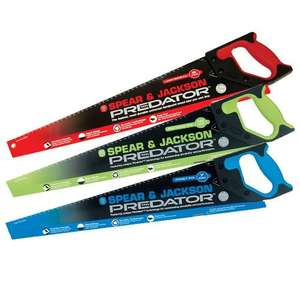 Spear & Jackson Predator Saws, 2 for £10 Mix & Match Online & Instore @ B&Q