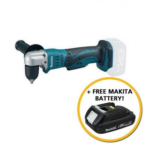 Makita 18v Angle Drill (body only) + 2ah Battery £123.46 ENDS 9/4/17 @ Anglia Tool Centre