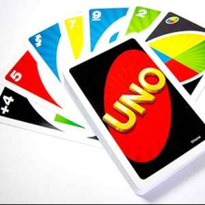 UNO plastic playing cards £1 instore at Poundland