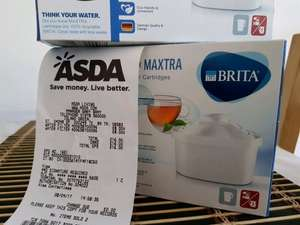 Brita Maxtra water filter 4pack £8 instore @ ASDA