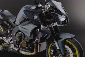 Ultra Realistic Yamaha Motorbikes Made From Paper Free to Download