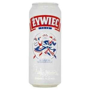 Zywiec (5.6%) & Warka Strong (6.5%) 500ml cans - £1 @ Morrisons