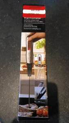 BBQ Digital Food Thermometer (led light) 50p ASDA