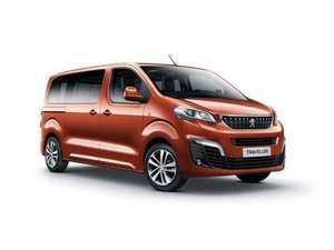 Peugeot Traveller 8 Seats 2 year lease £216.19 per month Nationwide £6,467