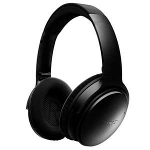 BOSE QUIETCOMFORT 35 QC35 WIRELESS BLUETOOTH NOISE CANCELLING HEADPHONES - BLACK £274 @ Atlantic Electrics