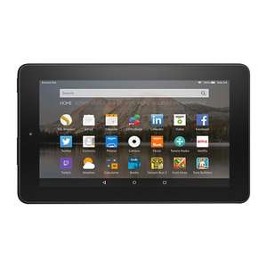 "Amazon Fire 7 Tablet, Quad-core, Fire OS, 7"", Wi-Fi, 8GB £34.95 with 2 years guarantee free C&C @ John Lewis"