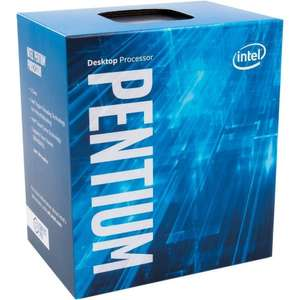 Intel Pentium G4560 Dual Core 4 Threads 3.5ghz lga1151 Kaby lake £51.67+£6.53 delivery Amazon France