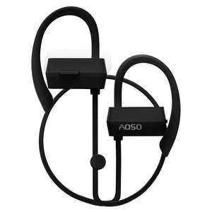 Wireless Bluetooth Headphones, AOSO G18 Bluetooth CSR V4.1 Headphone with Mic, 80mAh Lithium Battery Ear Hook for Smartphone, Black £2.99 Prime or £6.98 non prime Sold by Aosotech UK Store and Fulfilled by Amazon