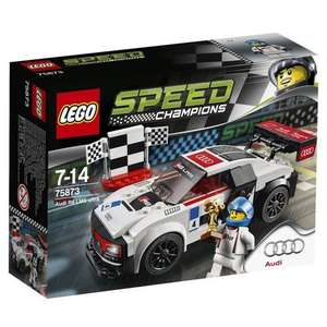 LEGO 75873 Speed Champions Audi R8 LMS ultra - Multi-Coloured £7.29 @ Amazon PRIME EXCLUSIVE