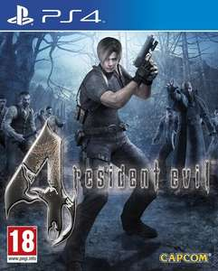 Resident Evil 4 HD Remake PS4 £14.20 @ mymemory.co.uk via code