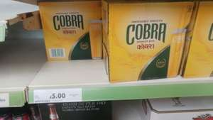 Cobra Lager 12x330ml £5 Tesco instore