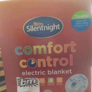 Silent night electric blanket was £19.99 down to £1.00 b&m