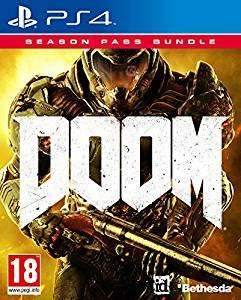Doom Game + Season Pass Bundle (PS4) £18.99 with prime (+£1.99 non prime) @ amazon