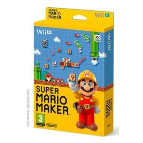 Super Mario Maker (Wii U)+ Artbook £24.85 @ Shopto