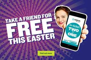 Two people can travel together for the price of one this lovely long Easter holiday weekend with Arriva Bus/coach Travel!
