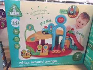 ELC Whizz Around Garage £10.50 instore @ Dobbies