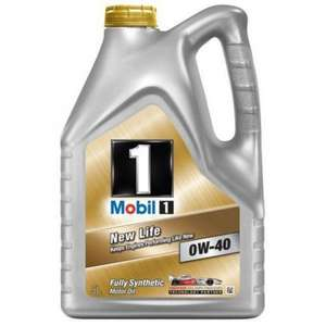 Mobil1 0W-40 Ultimate Performance Synthetic Engine Oil 5L £29.99 instore @ Costco